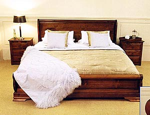 The Parisienne Low Foot Board Waterbed